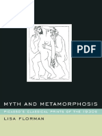 Lisa Florman-Myth and Metamorphosis_ Picasso's Classical Prints of the 1930s-The MIT Press (2001)