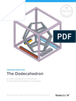 Formlabs Lesson Plan Dodecahedron