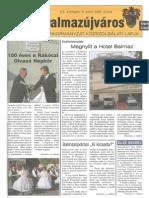 Balmazújváros újság - 2005 június