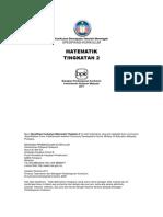 Spesifikasi Kurikulum Matematik Tingkatan 2