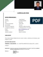Curriculum-Angel Alvares Duran
