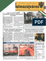 Balmazújváros újság - 2005 március