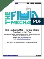 Fluid Mechanics MCQ - Part One