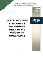 Instalaciones Eléctricas Interiores Meta Nº 719 Virgen de Guadalupe