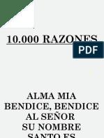 10000 razones