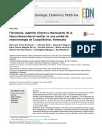 Frecuencia, aspectos clínicos y moleculares de la hipercolesterolemia familiar en una unidad de endocrinología de Ciudad Bolívar, Venezuela