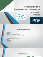 Tecnologías de La Información en La Cadena De