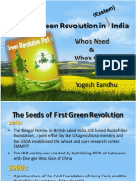 Secon Green Revolution
