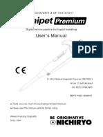 Manual Micropipeta