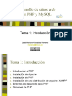 Material Estudio PHP XAMMP