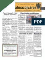 Balmazújváros újság - 2005 október