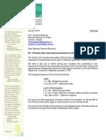 OCLA letter to AG Ontario Mulroney