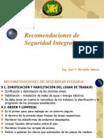 9.-Recomendaciones de Seguridad Integral