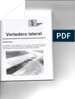 TEORÍA Y DISEÑO DE VERTEDERO LATERAL