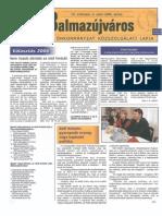Balmazújváros újság - 2006 április
