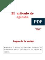 13A_N04I_El Articulo de Opinion2018-2