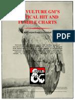5e Critical Hit and Fumble Charts