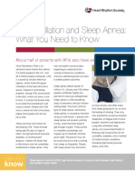 Atrial Fibrillation and Sleep Apnea
