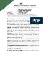 Acta de Audiencia de Actuacion y Declaracion Judicial