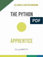 Python Apprentice Sample