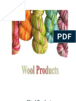 Wool textile processing Products