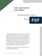 Noções Gerais Sobre o Financiamento Da Educação No Brasil...