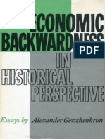 Alexander Gerschenkron - Economic Backwardness in Historical Perspective_ A Book of Essays (1962, Belknap Press).pdf