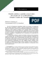 Cardona-Partido católico y partido conservador, dos modos de ver el liberalismo. Estados Unidos de Colombia.pdf