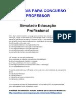 10.Simulado Educacao Profissional.docx