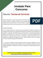 17. Teorias Do Curriculo