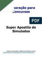 APOSTILA Preparacao Para
