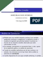 Modelos Lineales