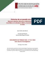ICSO - Historias de Un Pasado Cercano. Memoria Colectiva, Discursos y Violencia Homo-lesbotransfóbica en La Dictadura Militar y Transición Democrática