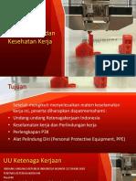 KD 3.1 Keselamatan Dan Kesehatan Kerja (K3)