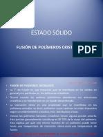 1.4 - Fusión de Polimeros Cristalinos - 2018