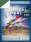 Political Science 2018 Catalog