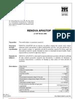 Fisa Renova Apastop