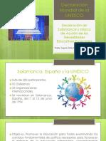 Declaración Mundial de La UNESCO