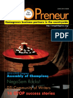 OTOPreneur June2010 Edition