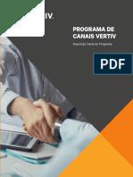 Brochure Canales VERTIV PT
