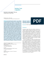 Analysis of Manufacturing Costs in Pharma 2008