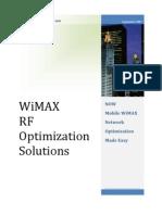 WL WiMAX RF Optimization Solut