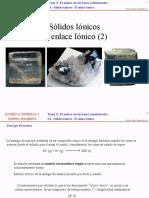 3.4.4 (2) - Sólidos Iónicos - El Enlace Iónico-2