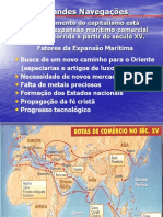 Hist. 12 - Grandes Navegações