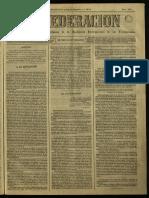 La Federación, España, 1872, 130 Sección Buenos Aires