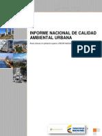 Informe Calidad Ambiental Urbana