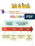 Hist. 18 - Brasil-colônia II