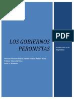 Los Gobiernos Peronistas 1945