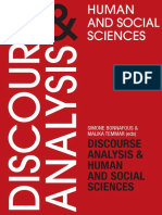 Bonnafus Temmar Discourse Analysis Human and Social Sciences