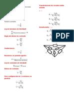 Formula Rio de analisis de circuitos 1